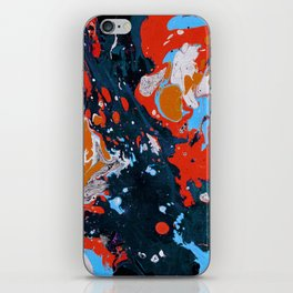 Abstract artistic painting iPhone Skin