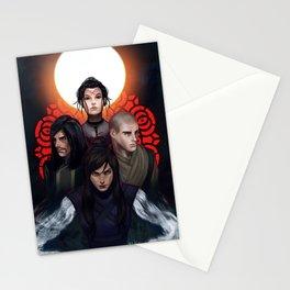 Avatar Villains Stationery Cards
