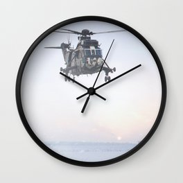 Jungly In Winter Wall Clock