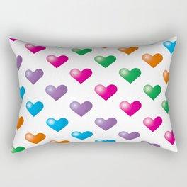 Hearts_F01 Rectangular Pillow