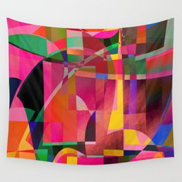 simulated experience Wall Tapestry