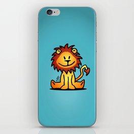 Cute little lion iPhone Skin