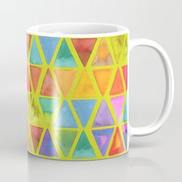 Watercolor Triangle Blends Coffee Mug