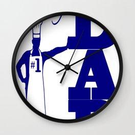 CHEF DAD GEAR Wall Clock