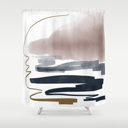 Introversion XIII Shower Curtain