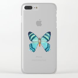 Storm Waves Clear iPhone Case