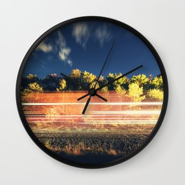Motion of the Railway Wall Clock