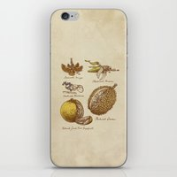 clockwork orange iPhone & iPod Skins featuring Steampunk Fruit  by Eric Fan