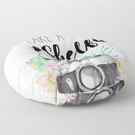 Lemme Take a #Shelfie Floor Pillow