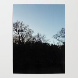 Nature, landscape and twilight 2 Poster