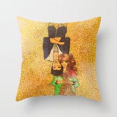 Valentine Illo ♥ Throw Pillow