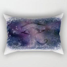 from the Source ~ Eye of Horus ~ Galaxy III Rectangular Pillow