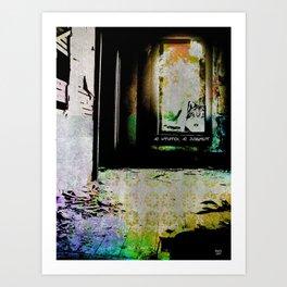 No Intuition, No Judgment Art Print