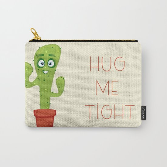Hug the Cactus Carry-All Pouch