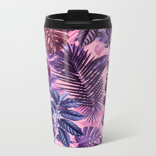 TROPICAL GARDEN VI Metal Travel Mug