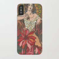 mucha iPhone & iPod Cases featuring Alphonse Mucha by katrinefor