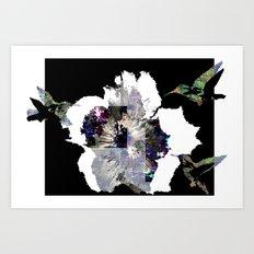 We want nectar! Art Print