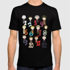 Count With the Doctors Mens Fitted Tee Black MEDIUM