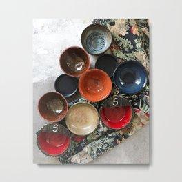 Ceramics 4 Metal Print