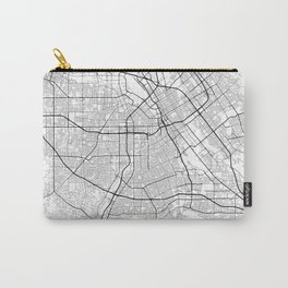 Minimal City Maps - Map Of San Jose, California, United States Carry-All Pouch