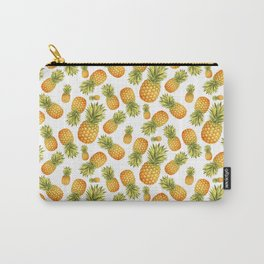 Pineapple Glittering Party Carry-All Pouch