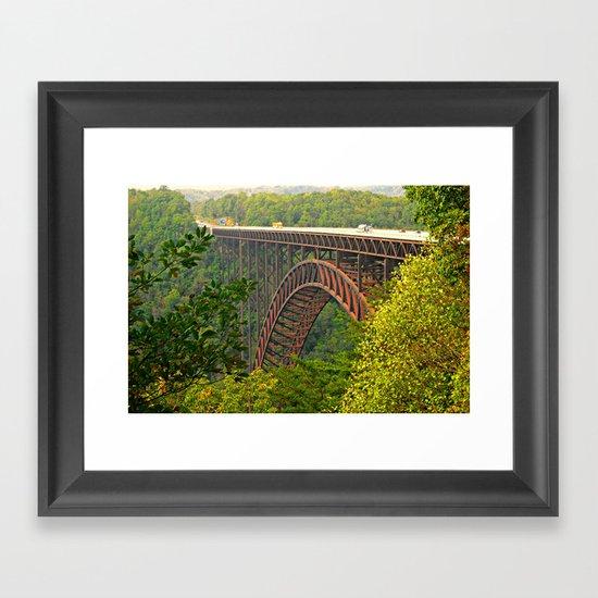 New River Gorge Framed Art Print