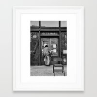 oakland Framed Art Prints featuring Occupy Oakland by luvsick