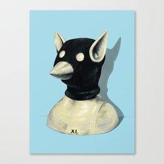 Bandit Hat Canvas Print