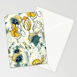 vintage floral pattern 3 Stationery Cards