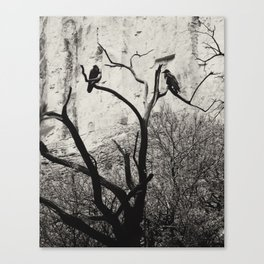 Thought & Memory Canvas Print