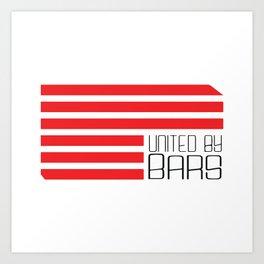 United By Bars Art Print