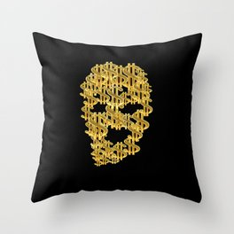 The Ski Mask way Throw Pillow
