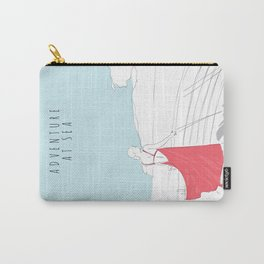 Glamorous Adventure At Sea Carry-All Pouch
