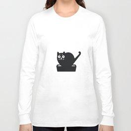 Surprised cat! Long Sleeve T-shirt