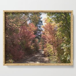 Fall Trail Serving Tray