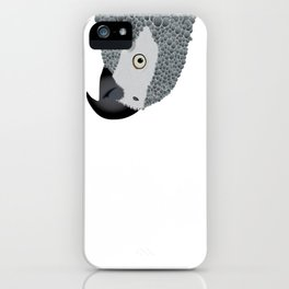 African Grey Parrot iPhone Case
