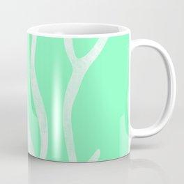 Coral Marine Abstract Coffee Mug