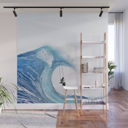 The Great Wave Wall Mural