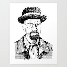 Heisenburg Art Print