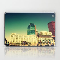Chicago Retro Skyline ~ architecture Laptop & iPad Skin