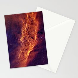 Nebula and Stars Stationery Cards