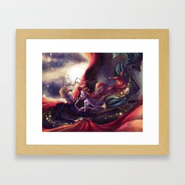 Kiss Me Framed Art Print