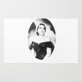 Maria Callas Rug