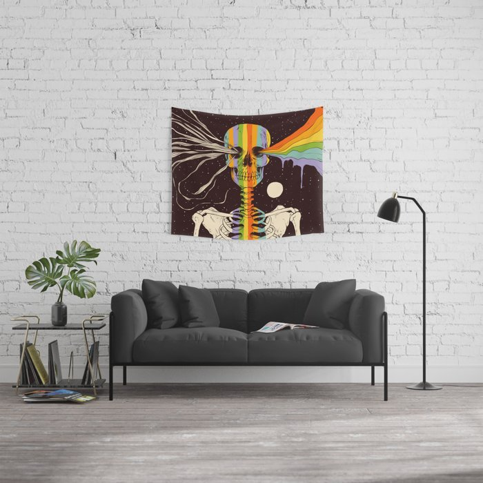 Dark Side of Existence Wall Tapestry