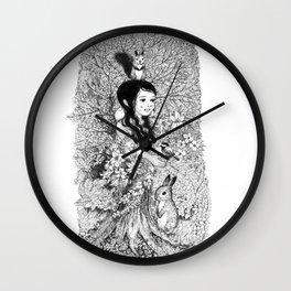 kinoko 2 Wall Clock