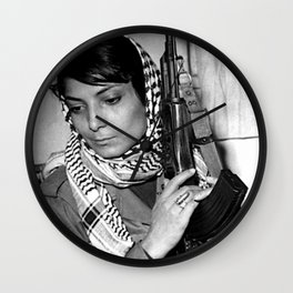 Leila Khaled Wall Clock