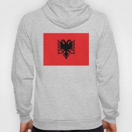 National flag of Albania - Authentic version Hoody