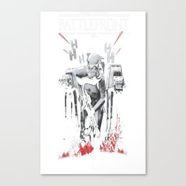 Battlefront Stormtrooper Charge Canvas Print