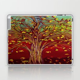 Abstract Fall tree Laptop & iPad Skin