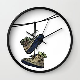 "Livin' For The City - ""Just For Kicks"" Wall Clock"